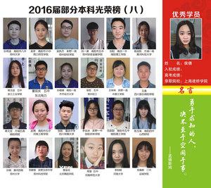 2016屆部分本科光榮榜(八)