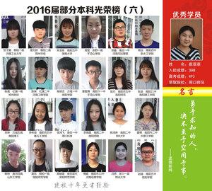 2016屆部分本科光榮榜(六)